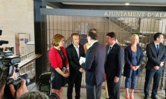 Compromís dona carta a Rajoy