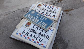 Compromís retirada de noms de carrers franquistes