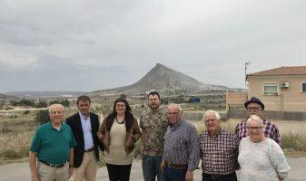 Visita Compromís Alacant partides rurals de Fontcalent